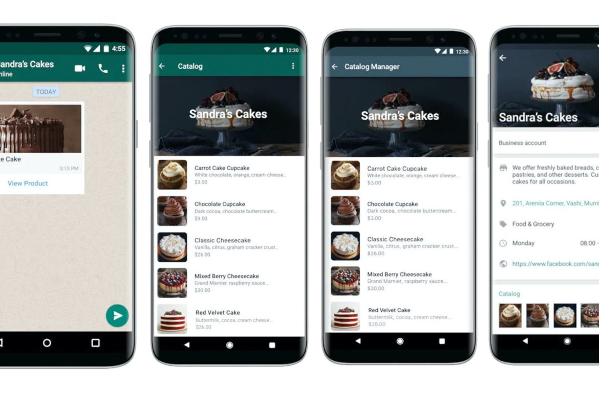 Novità WhatsApp Business: catalogo prodotti
